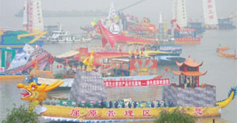 On the cutting edge: Hunan, China
