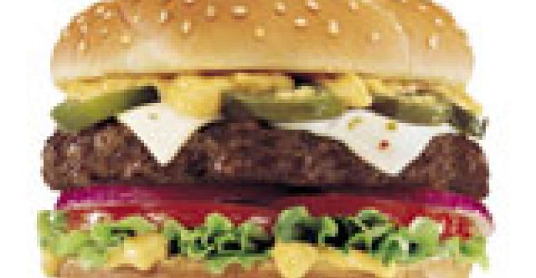 Jalapeño Thickburger back at Hardee's