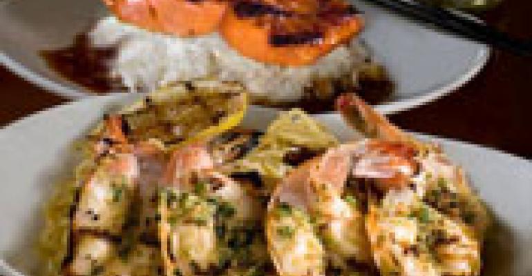 P.F. Chang's readies grill menu, mini desserts