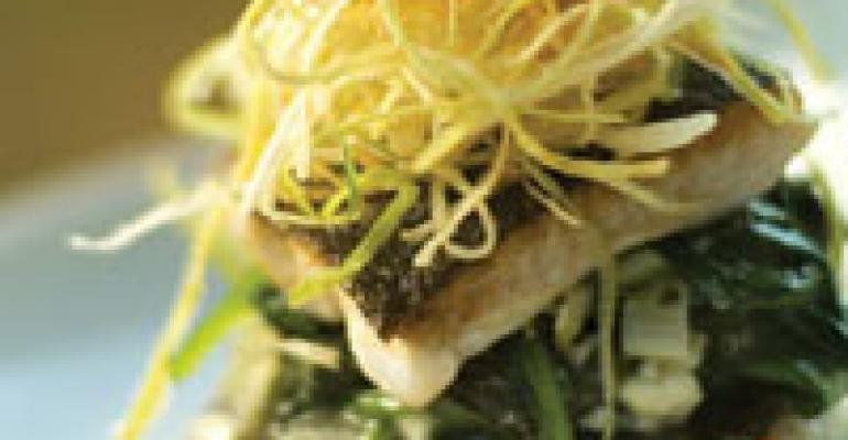 DISH OF THE WEEK: Trout spanakopita