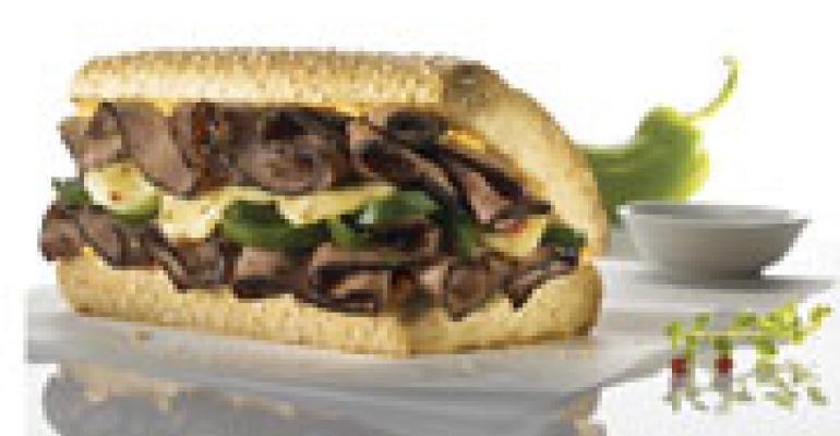 Quiznos promotes spicy prime rib sandwich
