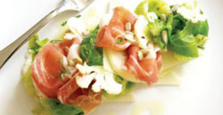 Dish of the Week: Salad of Brussels sprout leaves