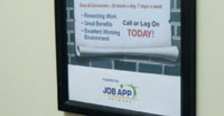 Quick-service operators cut high turnover with automated screening of hourly job applicants