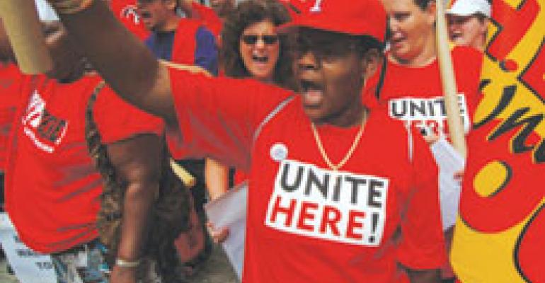 Aggressive new union tactics raise concerns among operators