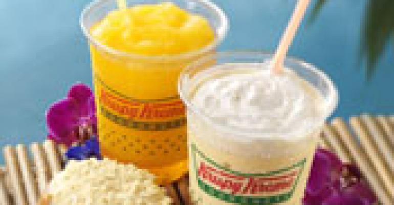 Krispy Kreme adds tropical items