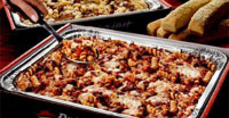 Pizza Hut says pastas pack on sales