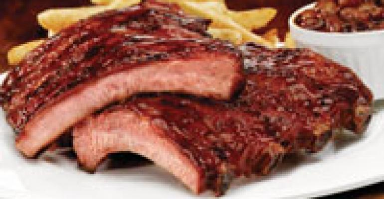 Smokey Bones offers baby-back ribs deal
