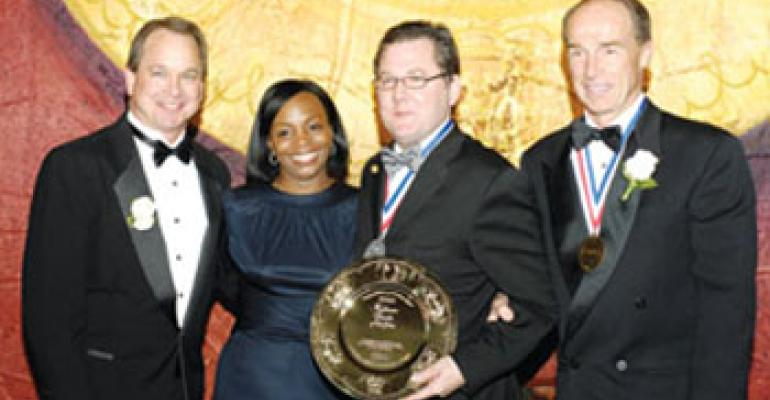 Chicago's own Charlie Trotter honored with IFMA Gold Plate during NRA show