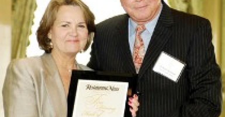 Peers fete Karatassos at Fine Dining Hall of Fame ceremony