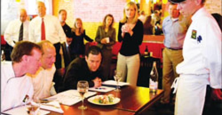 Culinary competition helps Not Your Average Joe's promote innovation