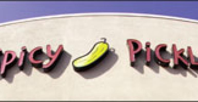 Spicy Pickle's irreverent, nearly illegible billboard campaign raises eyebrows, but maybe not sales