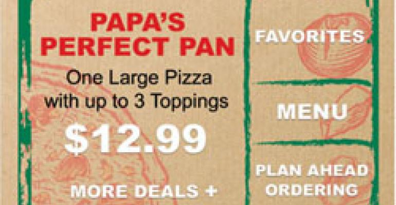 Pizza Hut, Papa John's launch 'widgets' in bid to boost online ordering with targeted offers