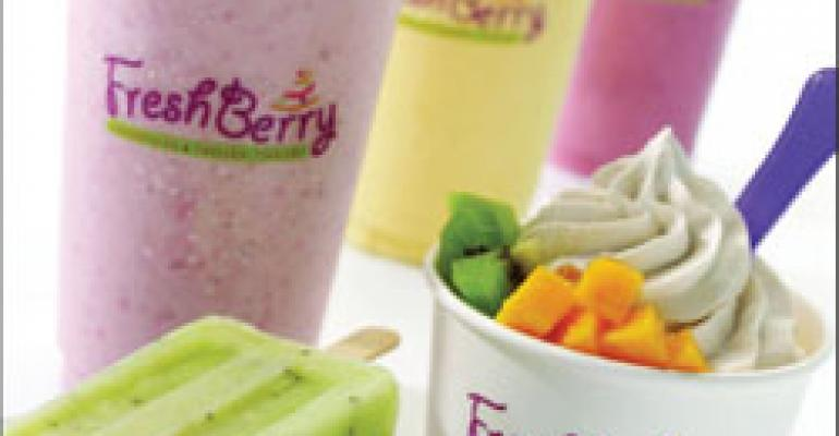 Yogurt chains yearn to establish strongholds in between the coasts