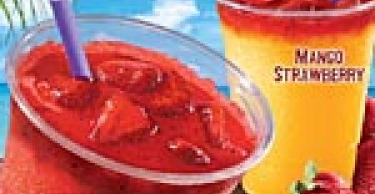 NRN Featured Drink: Mango Strawberry Frutista Freeze