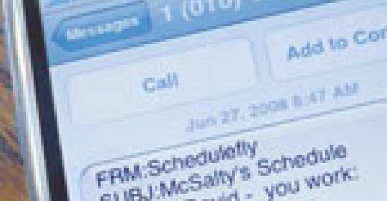 Web-based programs take the pain out of shift scheduling