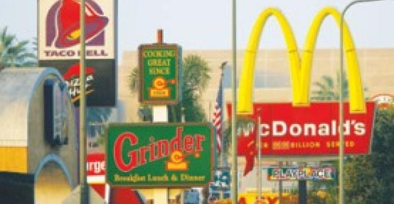 L.A.'s ban on new QSR drive-thrus in 32-sq.-mile swath feeds debate over anti-obesity activism