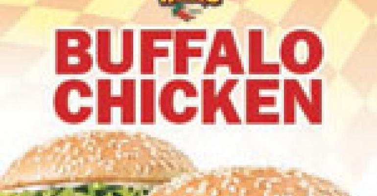 Checkers serves up Buffalo chicken sandwich