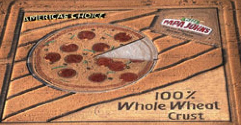 Papa John's uses crop circle to promo pizza