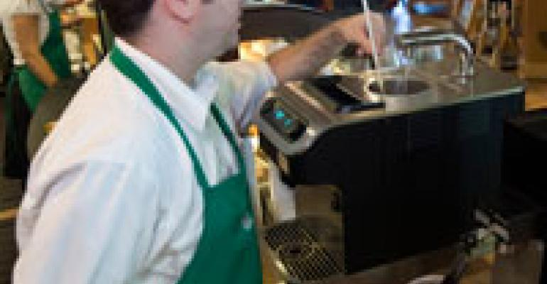 Starbucks starts brewing Clover coffees