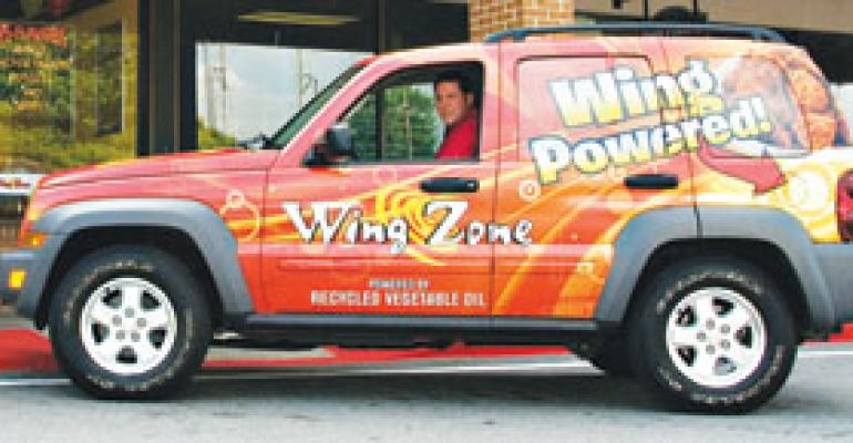 Wing Zone founder dips into fryers to fight rising fuel costs