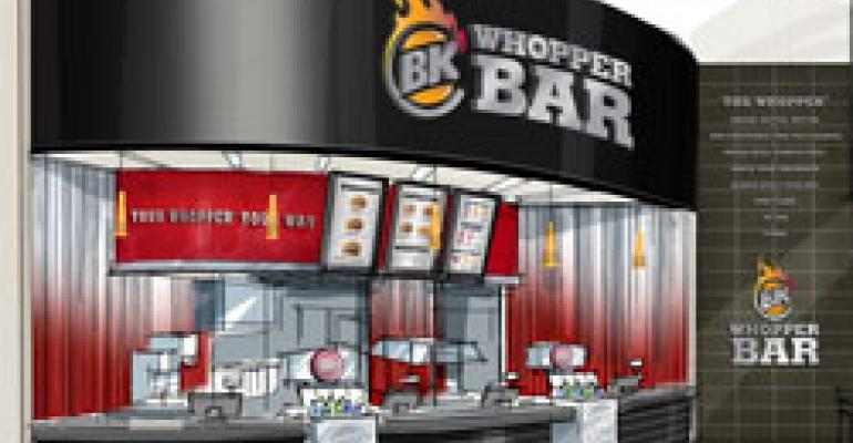 BK to debut Whopper Bar next year