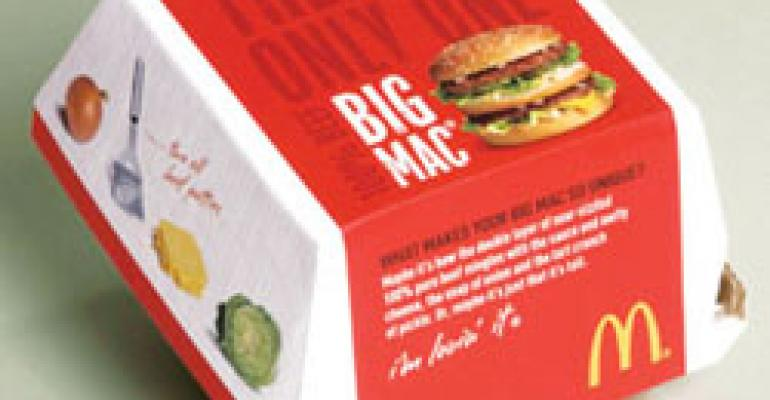 McDonald's overhauls global packaging to send a strong, food-driven message about quality