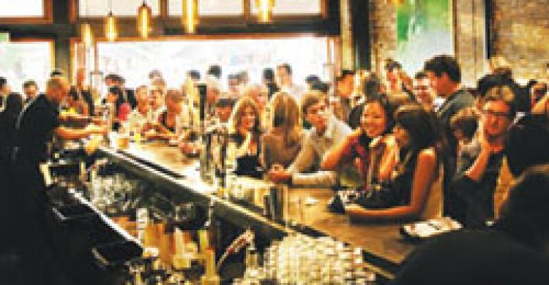 Beer, Wine & Spirits: Restaurants find giant beer bottles better for gaining a bigger share of partying public