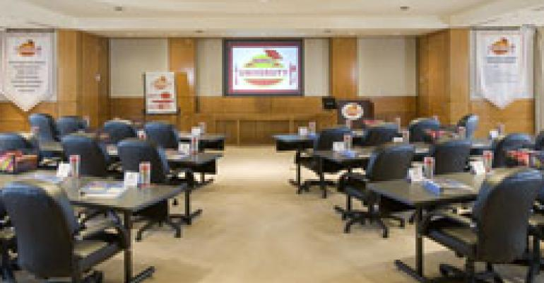 Denny's dedicates leadership training center