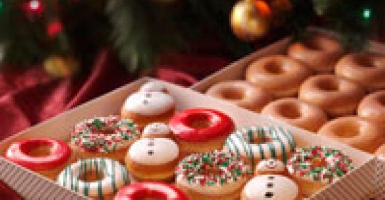 Krispy Kreme gifts buyers free doughnuts