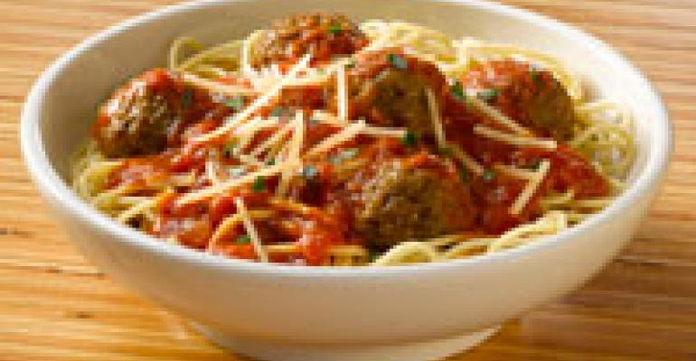 Noodles & Company adds spaghetti and meatballs