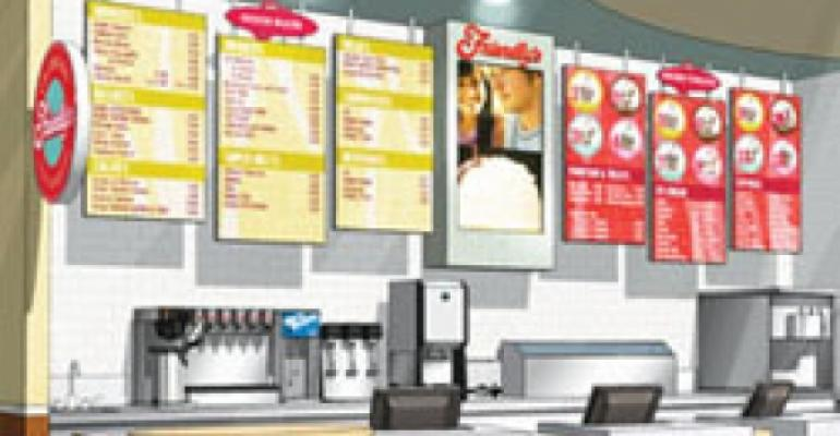 Friendly tests Express fast-casual variant, plans ice-cream-only model for on-site ops