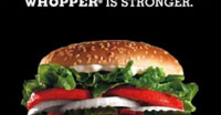 BK Facebook app: Dump friends, get a Whopper