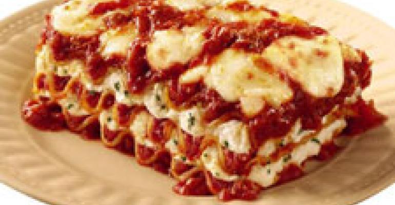Pizza Hut adds lasagna to Tuscani line