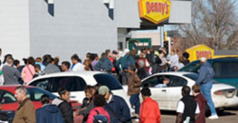 Denny's: Grand Slam giveaway a hit