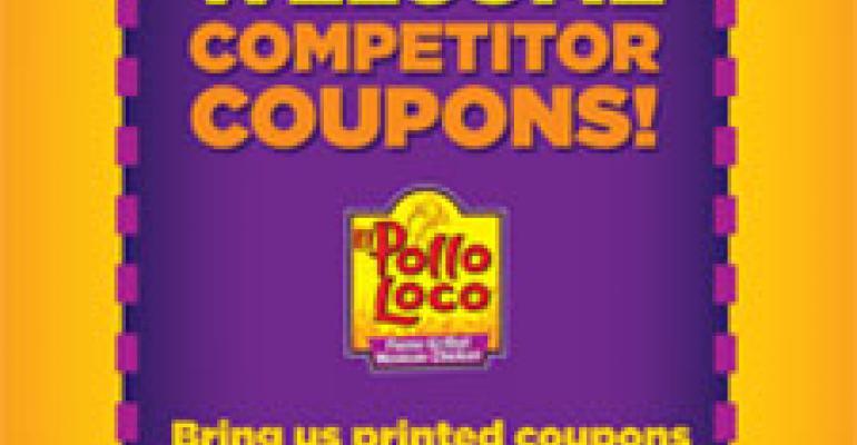 El Pollo Loco to accept chicken rivals' coupons