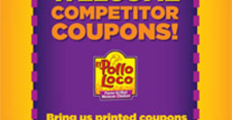 El Pollo Loco to accept chicken rivals' coupons