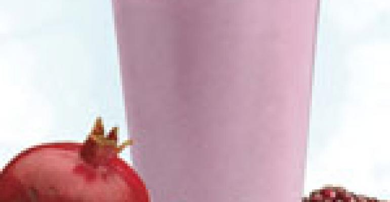 NRN Featured Beverage: Pomegranate Berry Smoothie
