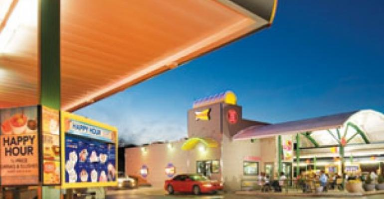 Quick-service chains revisit drive-ins to rev up sales