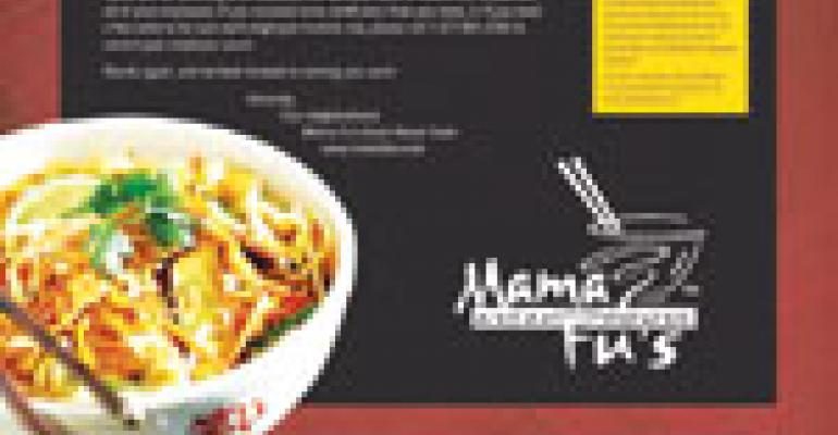 Mama Fu's takes care of business by targeting potential guests at their places of employment