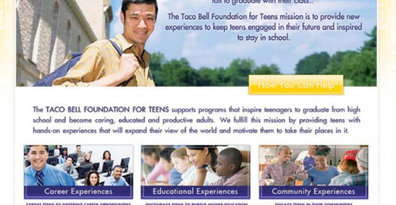 Taco Bell to try for $5M donation benefiting Foundation for Teens