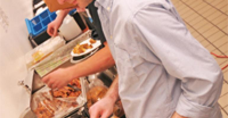 Maintaining 'family' ties with a well-executed staff meal