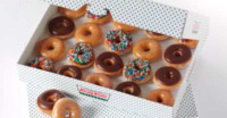 Krispy Kreme debuts tiny doughnuts