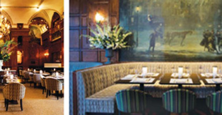 Landmark NY restaurant revamped under close supervision