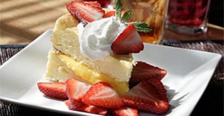 Comfort + pizzazz = new crop of strawberry treats