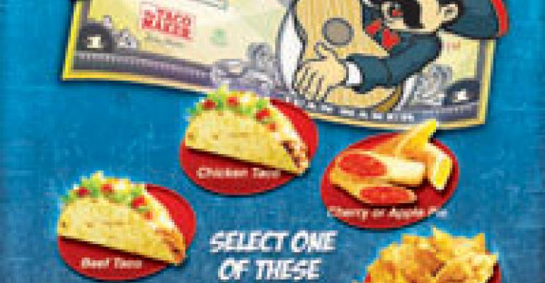 Taco Maker's text message coupon campaign boosts trial with help from traditional media