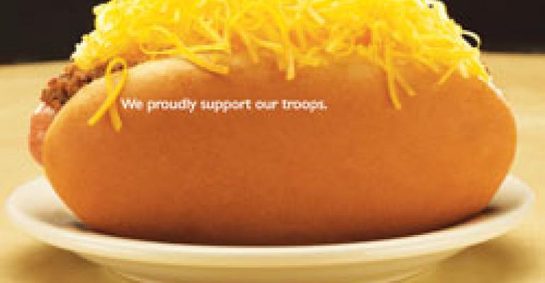 Gold Star Chili program builds brand by welcoming soldiers home