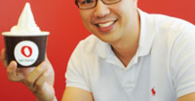 Having words with Daniel J. Kim, chief executive president, Red Mango, Inc.