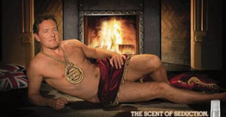Piers Morgan strips down for BK ad