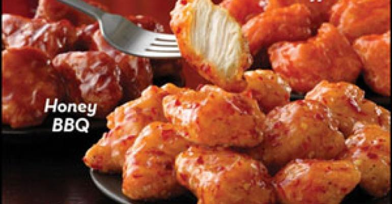 Wendy's to roll out boneless wings