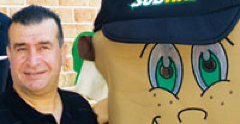 Subway franchisee scores a hit with green store design